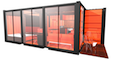 ROFrance Construct case din containere