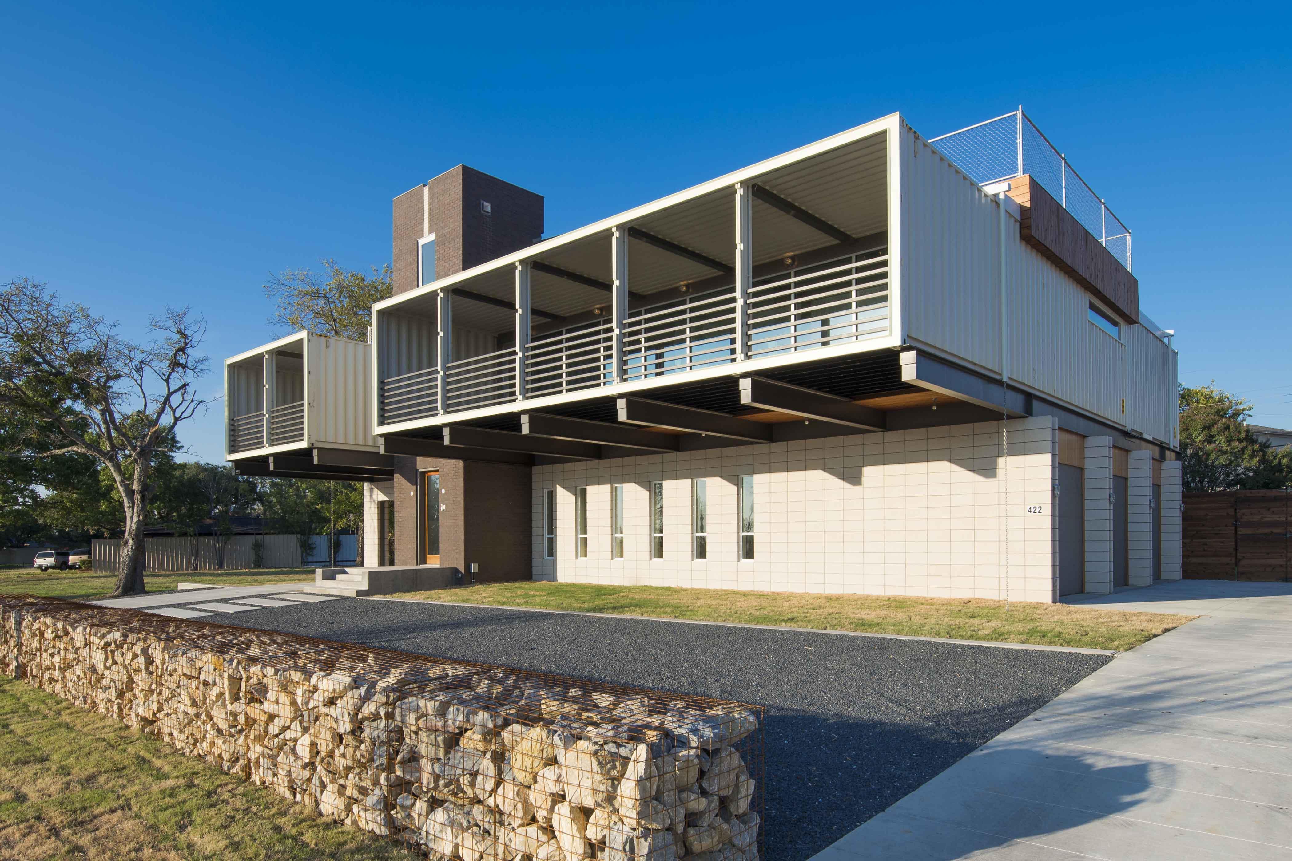 Prix Maison Ossature Metallique Clé En Main maisons modernes en conteneurs maritimes au meilleur prix